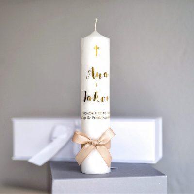 svijeća za vjenčanje